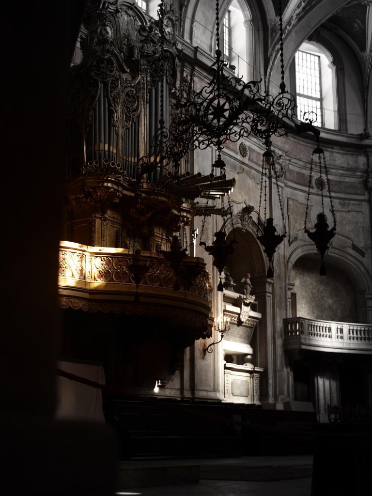 Grand Orgue, Cathédrale, Lisbonne, Portugal
